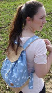 Der erste selbstgenähte Rucksack für mich selbst