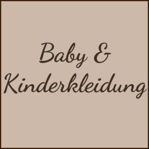 Baby & Kinderkleidung
