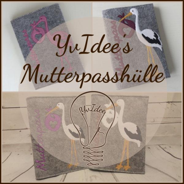 Schnittmuster YvIdee's Mutterpasshülle Deckblatt.