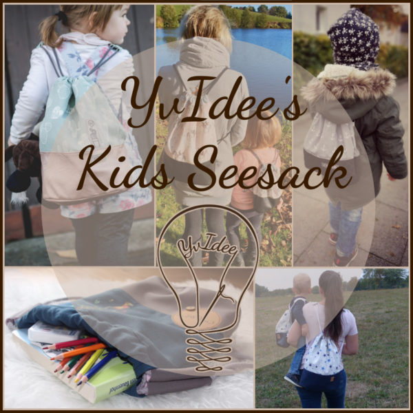 Deckblatt zum Schnittmuster YvIdee's Kids Seesack