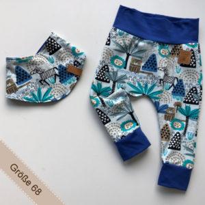 Babyset bestehend aus Hose und Halstuch